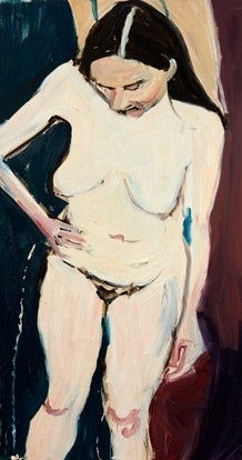 painting nude woman